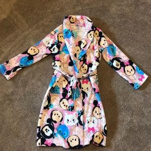 Girls Disney Tsum Tsum plush robe